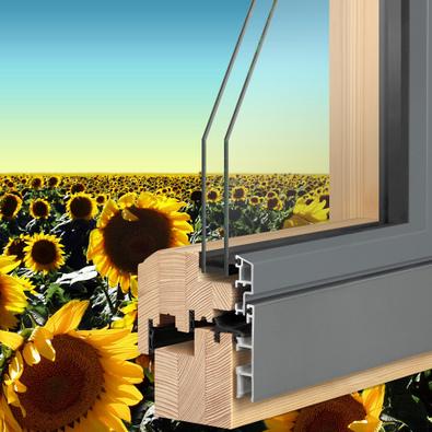 Holzfenster Und Holz Aluminiumfenster Mayer Bauelemente