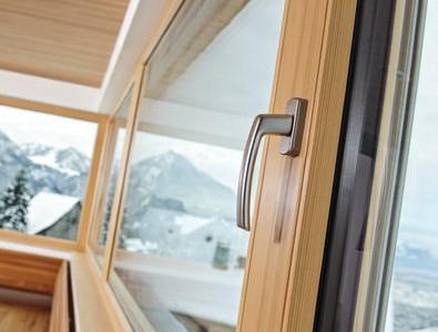 Holzfenster und Holz-Aluminiumfenster