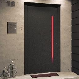 Haustüren und Eingangsanlagen in Holz-Aluminium
