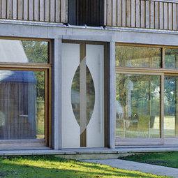 Haustüren und Eingangsanlagen in Aluminium