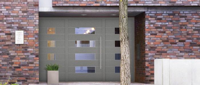 Haustüren und Eingangsanlagen aus Aluminium