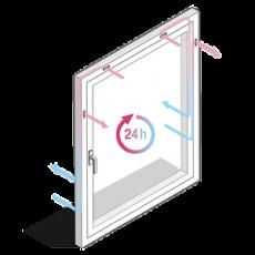 Geneo Inovent – Das Fenster, das geschlossen lüftet